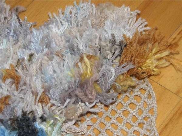 Креативные коврики - вязание